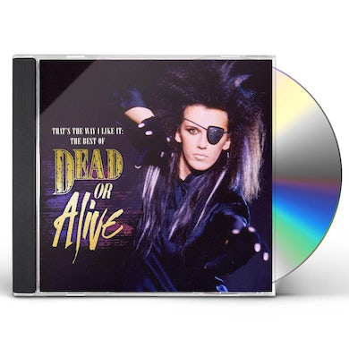 Dead or Alive ALIVE CD