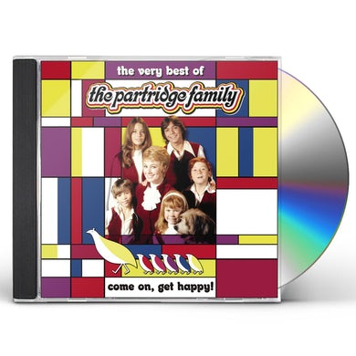 COME ON GET HAPPY: VERY BEST OF PARTRIDGE FAMILY CD