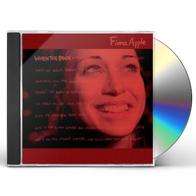 Fiona Apple WHEN THE PAWN CD