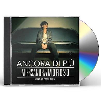 Alessandra Amoroso ANCORA DI PIU CINQUE PASSI IN PIU CD