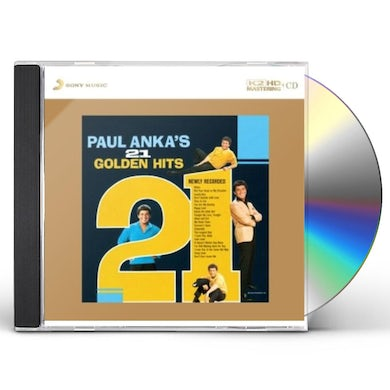 PAUL ANKA'S 21 GOLDEN HITS CD
