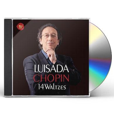 Jean-Marc Luisada CHOPIN: 14 WALTZES & 7 MAZURKAS CD