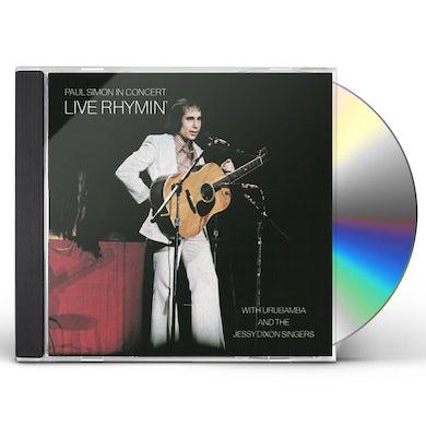 PAUL SIMON IN CONCERT: LIVE RHYMIN CD