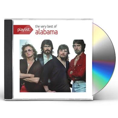 PLAYLIST: THE VERY BEST OF ALABAMA CD