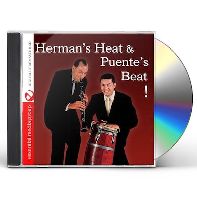 Tito Puente and Woody Herman HERMAN'S HEAT & PUENTE'S BEAT CD