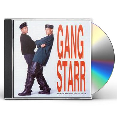 Gang Starr NO MORE MR NICE GUY CD