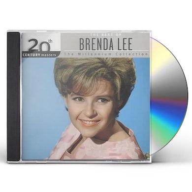 Brenda Lee 20TH CENTURY MASTERS CD