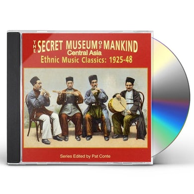 Secret Museum Of Mankind: Central Asia / Various CD