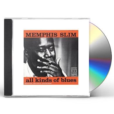 Slim Memphis  ALL KINDS OF BLUES CD