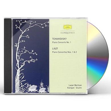 Lazar Berman TCHAIKOVSKY: PIANO CONCERTO NO 1 CD