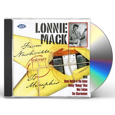 Lonnie Mack FROM NASHVILLE TO MEMPHIS CD