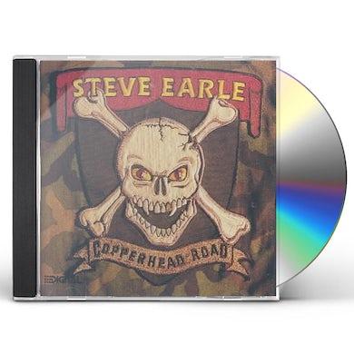 Steve Earle & The Dukes COPPERHEAD ROAD CD