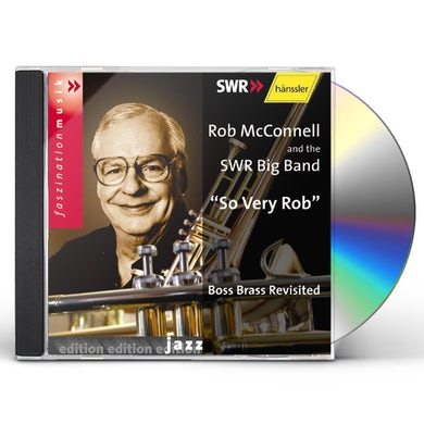 Rob McConnell SO VERY ROB CD