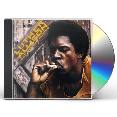 Luther Allison BAD NEWS IS COMING CD