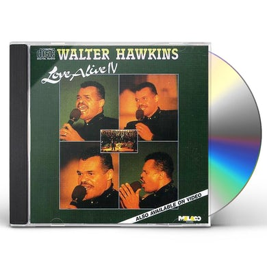 Walter Hawkins LOVE ALIVE 4 CD