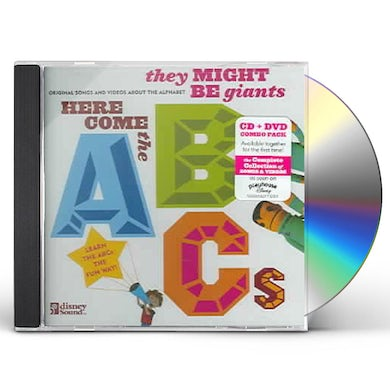 They Might Be Giants HERE COME THE ABC'S CD