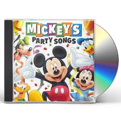 Disney Mickey's Party Songs CD