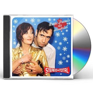 Stereo Total CARTE POSTALE DE MONTREAL CD
