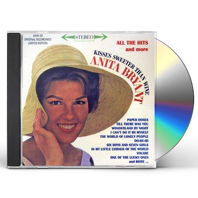 Anita Bryant ALL THE HITS & MORE 30 CUTS CD