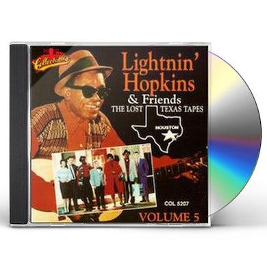 Lightnin Hopkins LOST TEXAS TAPES 5 CD