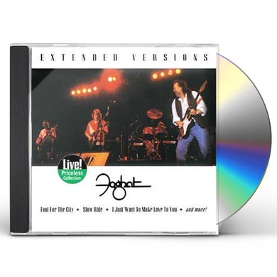 Foghat EXTENDED VERSIONS CD