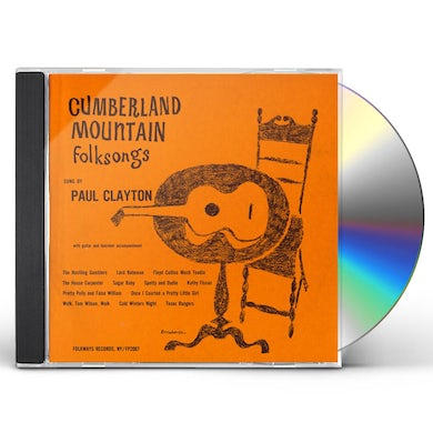 Paul Clayton CUMBERLAND MOUNTAIN FOLKSONGS CD