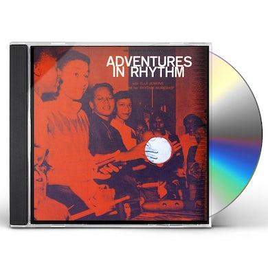 Ella Jenkins ADVENTURES IN RHYTHMS CD