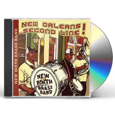 New Birth Brass Band NEW ORLEANS SECOND LINE CD