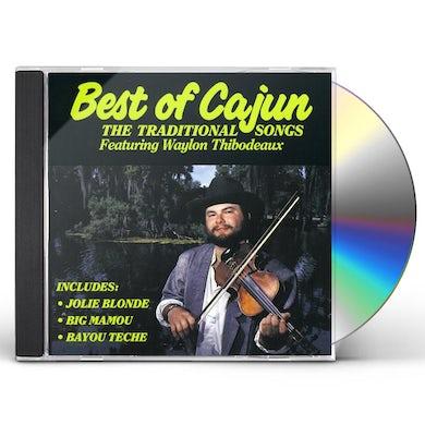 Waylon Thibodeaux BEST OF CAJUN CD
