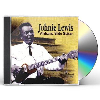 Johnie Lewis ALABAMA SLIDE GUITAR CD