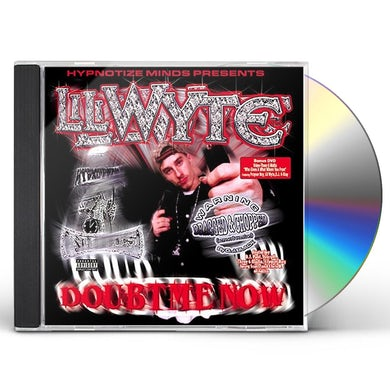 Lil Wyte DOUBT ME NOW: SURPED UP & SCREWED CD