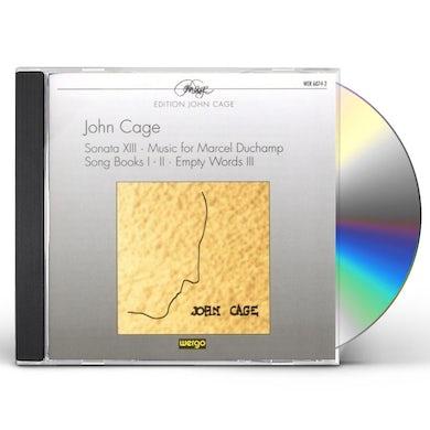 Cage SONATA XIII / SONG BOOKS I-II CD