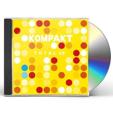 KOMPAKT TOTAL 19 / VARIOUS CD