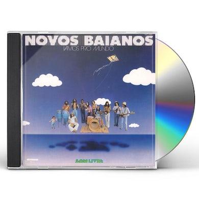 Novos Baianos VAMOS PRO MUNDO CD