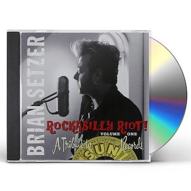Brian Setzer ROCKABILLY RIOT: TRIBUTE TO SUN RECORDS 1 CD
