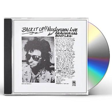 BACK IT UP!! NILS LOFGREN LIVE CD