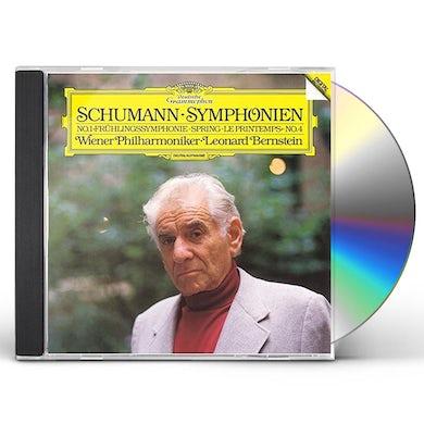 Leonard Bernstein SCHUMANN: SYMPHONIES NO.1 SPRING CD