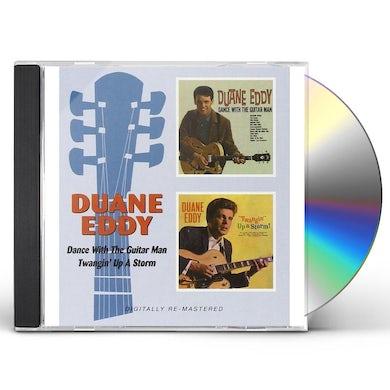 Duane Eddy DANCE WITH THE GUITAR MAN / TWANGIN UP A STORM CD