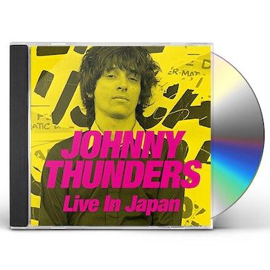 Johnny Thunders LIVE IN JAPAN CD