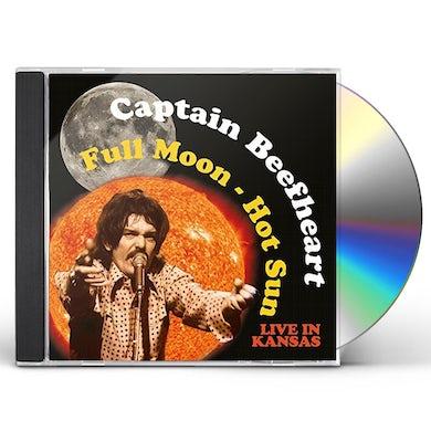Captain Beefheart FULL MOON - HOT SUN LIVE IN KANSAS CD