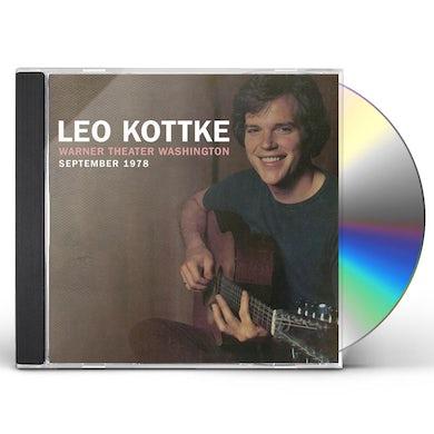 Leo Kottke WARNER THEATER WASHINGTON SEPTEMBER 1978 CD