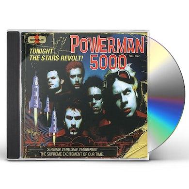 Powerman 5000 TONIGHT THE STARS REVOLT CD