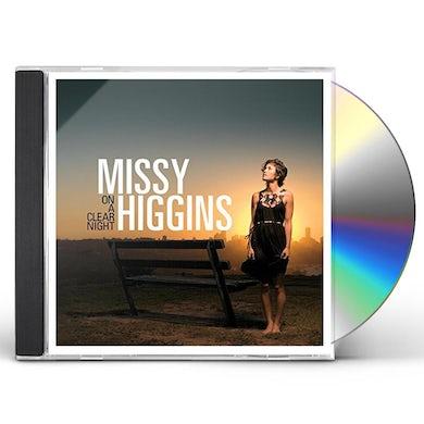 Missy Higgins ON A CLEAR NIGHT CD