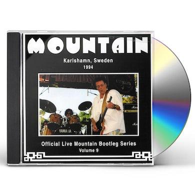 Mountain OFFICIAL BOOTLEG 9: KARLSHAMN SWEDEN 1994 CD