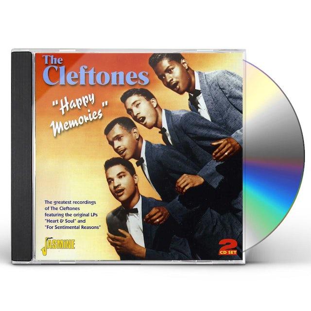 Cleftones HAPPY MEMORIES: GREATEST RECORDINGS CD