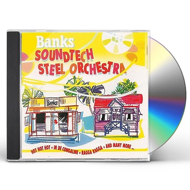 Banks Soundtech Steel Orchestra CD