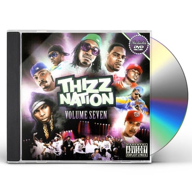 MAC DRE PRESENTS THIZZ NATION 7 CD