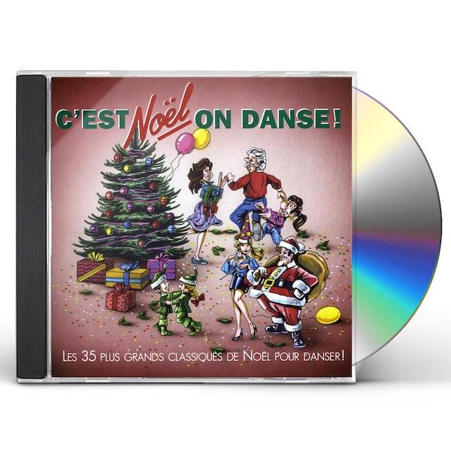 artistes varies C'EST NOEL ON DANSE CD