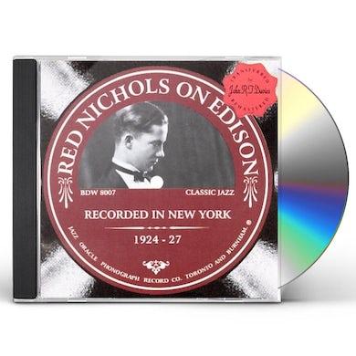 Red Nichols ON EDISON 1924-1927 CD