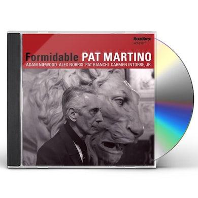 Pat Martino FORMIDABLE CD